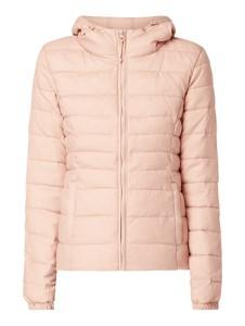 Różowa kurtka Only w stylu casual krótka