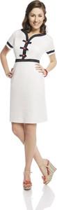 Sukienka Fokus z dekoltem w kształcie litery v ołówkowa