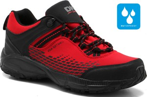Czerwone buty trekkingowe DK