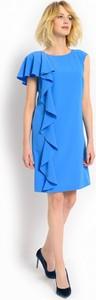 Sukienka POTIS & VERSO z okrągłym dekoltem mini
