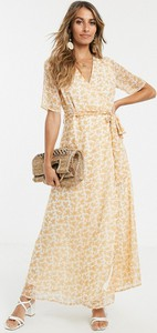 Sukienka Y.A.S z krótkim rękawem maxi