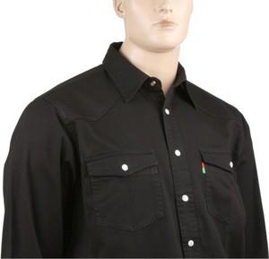 Koszula Duke z długim rękawem z jeansu w stylu casual