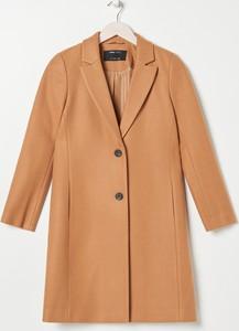 Płaszcz Sinsay z wełny w stylu casual