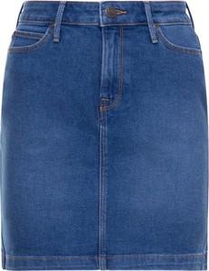 Spódnica Lee z jeansu w stylu casual