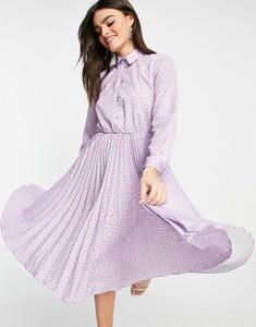 Sukienka Closet w stylu casual midi z długim rękawem