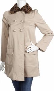 Beżowe płaszcze karmelowe wyprzedaż, kolekcja wiosna 2020