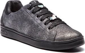 Sneakersy GEOX - J Djrock G. A J844MA 0CD54 C1009 D Dk Silver