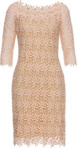 Sukienka bonprix BODYFLIRT boutique z długim rękawem z okrągłym dekoltem