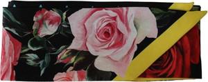 Różowy szalik Dolce & Gabbana