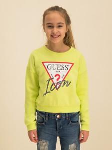 Zielona bluza dziecięca Guess