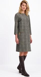 Sukienka Lavard w stylu casual oversize z tkaniny