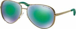 Zielone okulary damskie Michael Kors