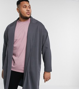 Czarny płaszcz męski Asos