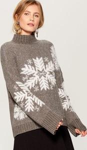 Sweter Mohito w bożonarodzeniowy wzór w stylu casual