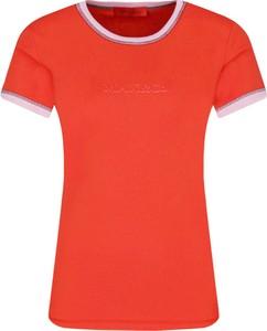 T-shirt Max & Co. w stylu casual z krótkim rękawem