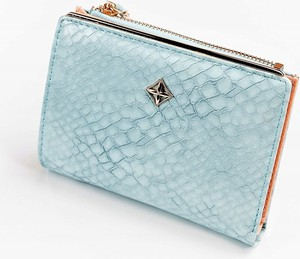 Niebieski portfel Milano Design