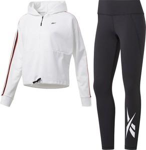 Spodnie sportowe Reebok Fitness z nadrukiem