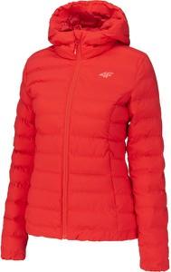 Czerwona kurtka 4F w sportowym stylu krótka