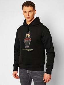 Czarna bluza POLO RALPH LAUREN z bawełny z nadrukiem