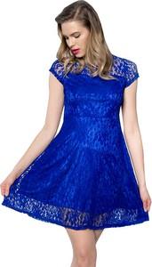 Niebieska sukienka Snm mini