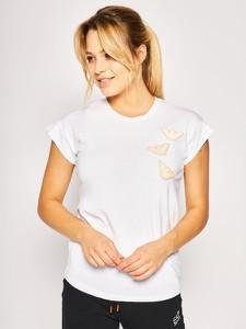 T-shirt Emporio Armani w stylu casual z okrągłym dekoltem z krótkim rękawem