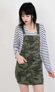 Spódnica Olika w militarnym stylu