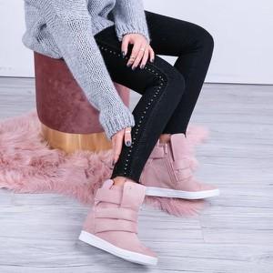 Sneakersy Royalfashion.pl na koturnie