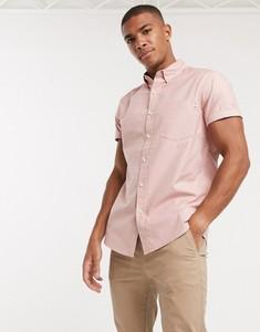 Różowa koszula topman z krótkim rękawem