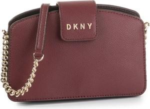 Torebka DKNY matowa na ramię średnia