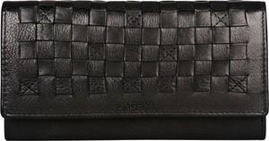 Brązowy portfel Lagen ze skóry