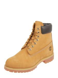 Żółte buty zimowe Timberland sznurowane