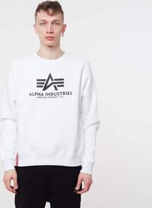 Sweter Alpha Industries z wełny w młodzieżowym stylu