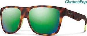 Zielone okulary damskie Smith