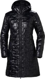 Czarny płaszcz Helly Hansen w stylu casual
