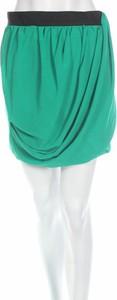 Zielona spódnica H&M w stylu casual