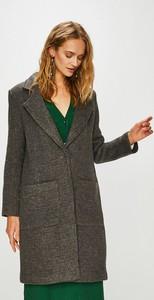 Brązowy płaszcz Haily's z wełny w stylu casual