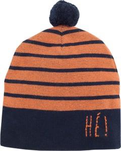 Pomarańczowa czapka Pinokio