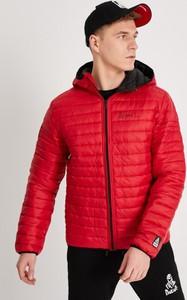 Czerwona kurtka DiverseExtreme w stylu casual krótka
