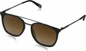 amazon.de Ted Baker okulary przeciwsłoneczne męskie Elkin zielone (Racing Green/Brown) 54.0