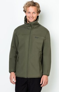 Zielona kurtka Autoryzowany Sklep Jack Wolfskin z polaru