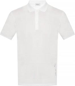 T-shirt Salvatore Ferragamo z krótkim rękawem w stylu casual z bawełny