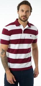 Koszulka polo Auden Cavill w stylu casual z krótkim rękawem