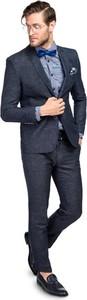 Granatowy garnitur Giacomo Conti