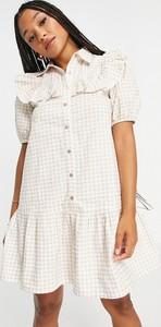 Sukienka Influence z krótkim rękawem mini w stylu casual