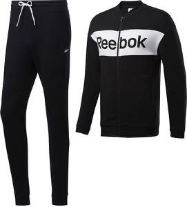 Czarny dres Reebok Fitness z dresówki