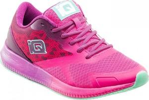 Różowe buty sportowe Iq sznurowane
