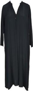 Sukienka Momoni z dekoltem w kształcie litery v maxi