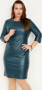 Sukienka Zaps Collection ołówkowa z długim rękawem