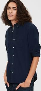 Niebieska koszula Gap w stylu casual z długim rękawem