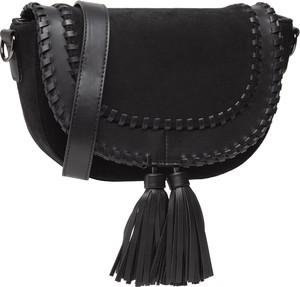 Czarna torebka Jenny Fairy matowa w młodzieżowym stylu